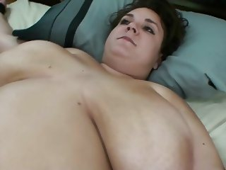 Knot stretched wet pussy cervix