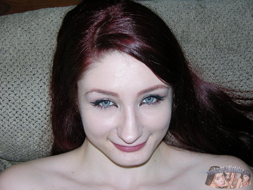Thin young naked girl